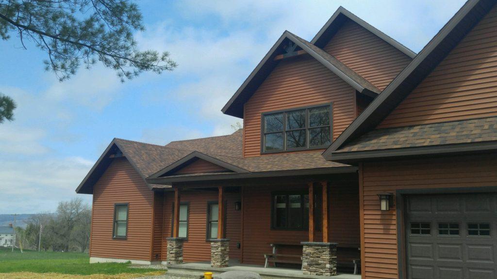 Custom Home entrance