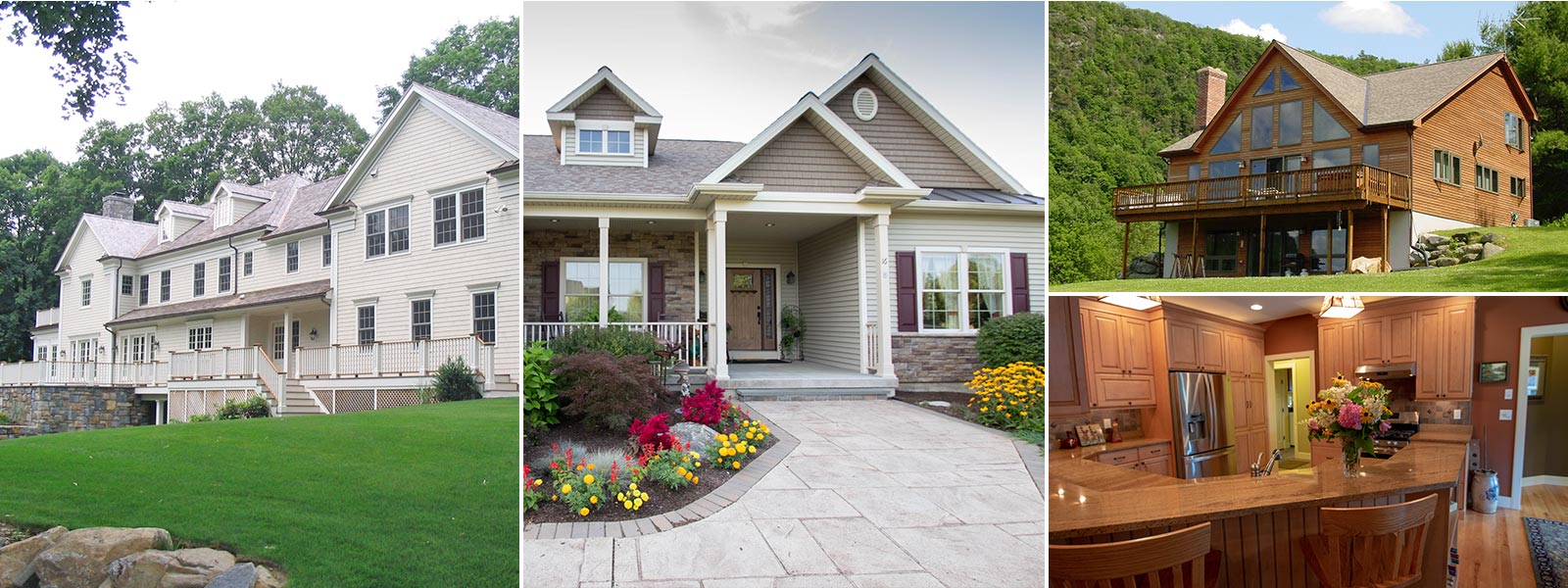 Custom Panelized Home Collage