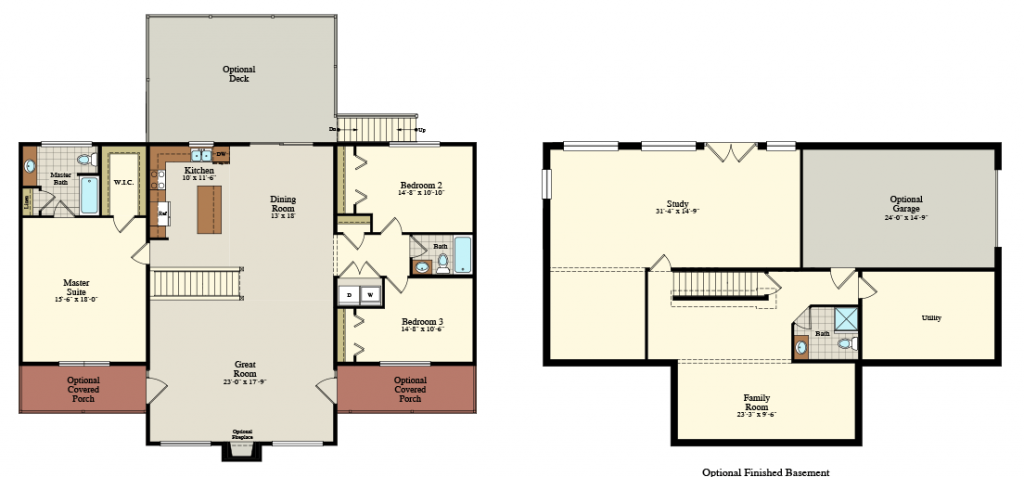 Lackawaxen Floor Plan